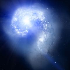 Galaxy Outburst.