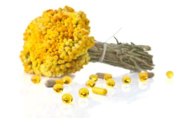 The immortele flowers and supplements