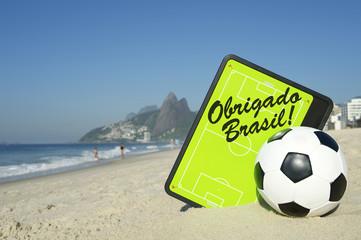 Obrigado Brasil Soccer Football