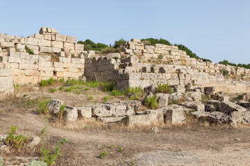 ruins of the temple of Selinunte