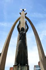 escultura representando a la libertad