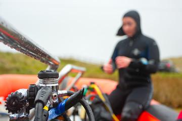 Scuba diving eqipment