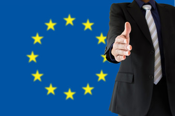handshake in  europe