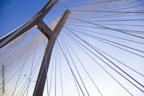 Modern bridge  - 67352180