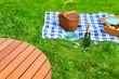 Summer Vacation Picnic Scene - 67353349