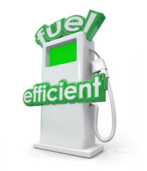Fuel Efficient Gasoline Diesel Pump Green Power Energy