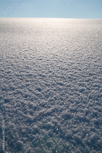 canvas print picture schneedecke glatt im winter