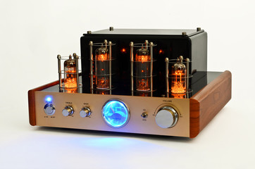 Retro Style Valve Amplifier