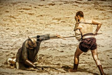 Gladiatoren Kampf