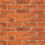 Fototapety Red brick wall seamless vector texture