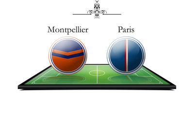 Montpellier vs Paris