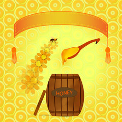 barrel of honey