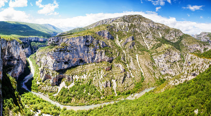 Canyon de Verdon, the Verdon Gorge,  France, Provence