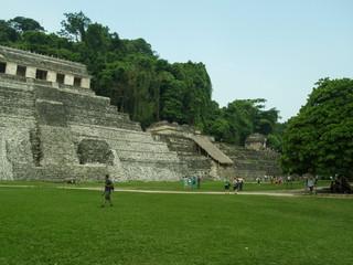 Tempio delle Iscrizioni 2, Sito archeologico Palenque, Messico