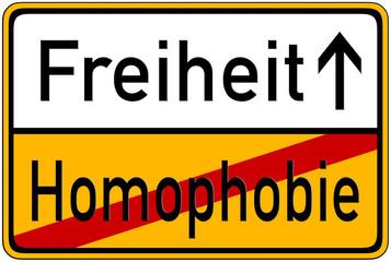 Freiheit->Homophobie
