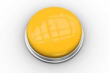 Digitally generated shiny yellow push button