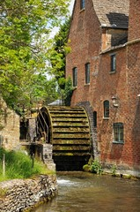 Watermill, Lower Slaughter © Arena Photo UK