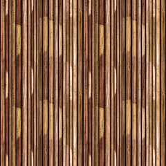 Seamless Traditional Wooden Bamboo Reed Texture Pattern Tile Clo