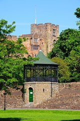 Castle and bandstand, Tamworth © Arena Photo UK