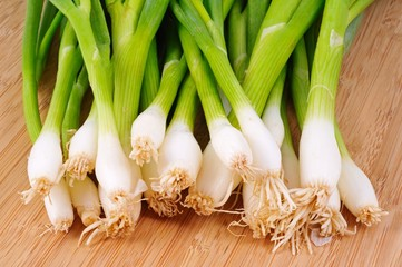 Spring onions © Arena Photo UK
