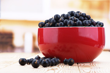 Berries black currants