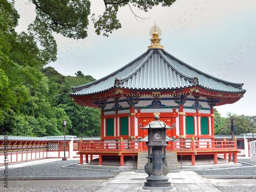 Prince Shotoku Hall at Shinsho Temple, Narita, Japan - 67363700