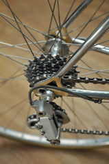 Bicycle's rear wheel
