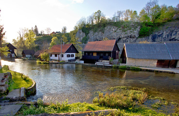 Falling waters village of Rastoke