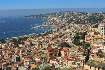 View of Naples from the Sant'Elmo Castle