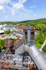 old iron works monuments in Neunkirchen