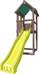 vector children's slide
