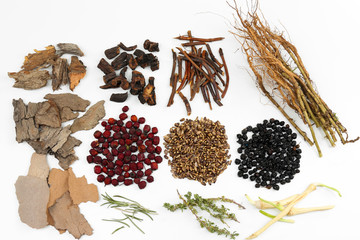 Traditional chinese herbal medicine ingredients, isolated