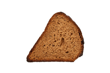 slice of bread isolated