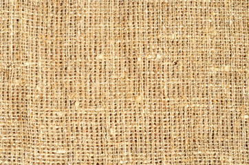 Burlap sacking background