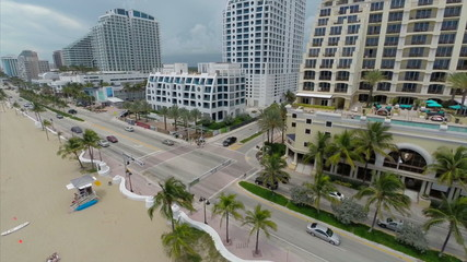 Aerial drone video Fort Lauderdale Florida