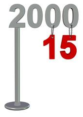 2015 tabela