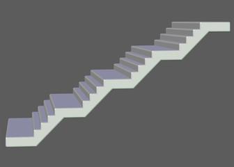 beyaz uzun merdiven