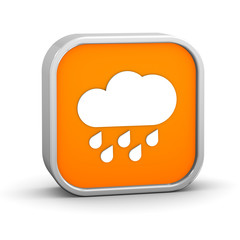 Cloudy with considerable amount of rain sign