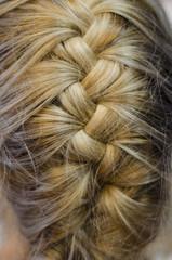 fishbone hairdo