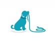 pet logo dog silhouette, farm animal symbol icon - 67372392
