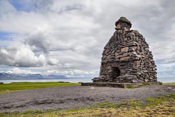 Bardar Saga Snaefellsnes Statue, Iceland