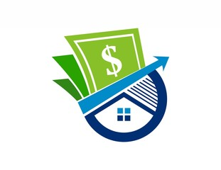 house finance logo,real estate investment,success business,money