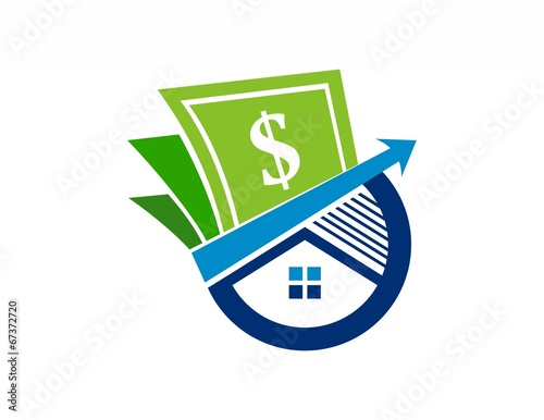 house finance logo,real estate investment,success business,money - 67372720