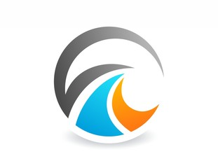 globe finance success,logo business,abstract media symbol icon