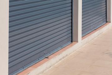 steel roller shutter door