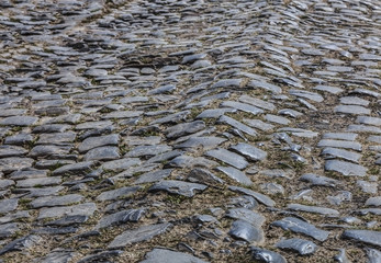 Cobbled Road - Detail