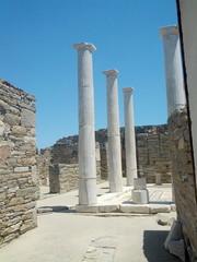 Le rovine di Delos