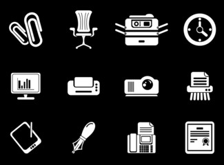 Office vector icons