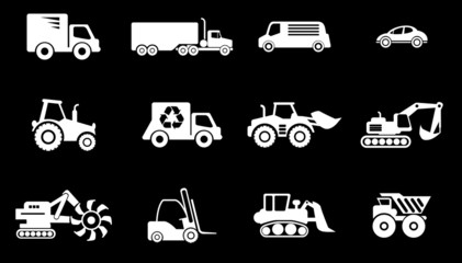 Symbols of Transportation & Loading Machines