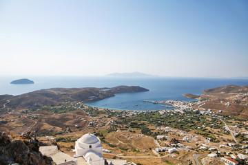 Insel Serifos - griechische Insel auf den Kykladen - Landschaft